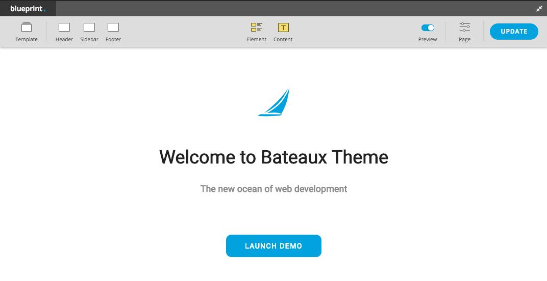 Page/Post Builder - Bateaux