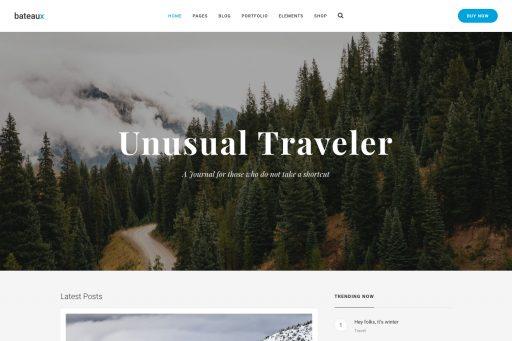 Bateaux Theme - Medium Blog