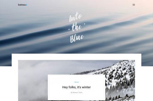 Bateaux Theme - Overlap Blog