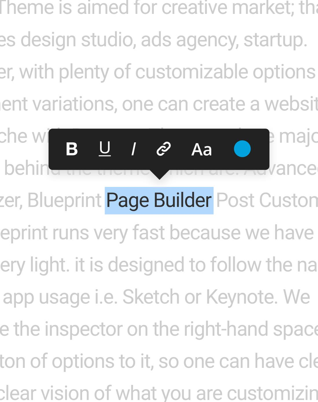 Blueprint inline text editor bateaux theme comment malvernweather Image collections